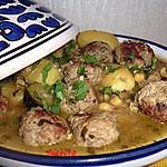 recette boulette de boeuf et pomme de terre
