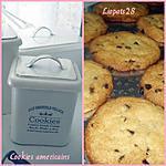 recette veritables cookies américains