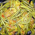 recette Tagine de viande aux haricots verts