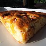 recette Gâteau très rustique aux pêches et piments d'Espelette