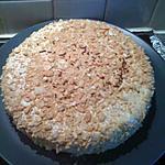 recette gateau aux amandes et glacage au cafe