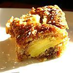 recette Gâteau au muesli et pommes caramélisées au Pastis