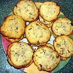 recette Cookies moelleux aux pépites de chocolats.