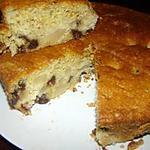 recette Gâteau poires-chocolat