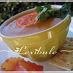recette Soupe à la courge, au gingembre et à l'orange