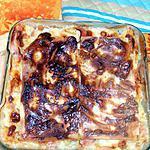 recette * Lasagnes à la créme de camenbert et aux courgettes *
