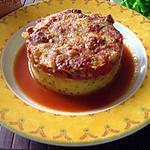 recette gratin de polenta au boeuf