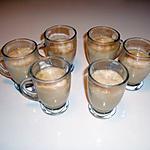 recette semoule au carambar  à la pate de nougat