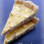recette Quiche au jambon & au Kiri