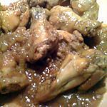 recette Ailes de poulet en cocotte