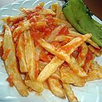 recette FRITES EN CHARMOULA