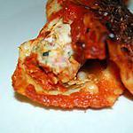 recette Cannellonnis légers Courgettes, Poulet, Bacon