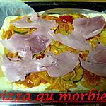 recette pizza au morbier