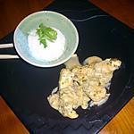 recette Aiguillettes de poulet à la coriandre