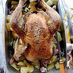 recette Poulet roti à l'ail et à la sauge