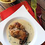 recette Blanquette de lapin au basilic