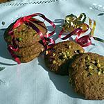 recette Cookies aux pistaches