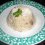 recette risotto cremeux aux champignons