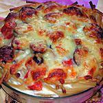 recette Nid de pâte à la Montbéliarde