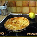 recette tarte/flan aux pommes reinette du vigan façon joeyyyyyy !!