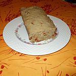recette Cake salé au thon, tomates sèchées, basilic, sans lactose
