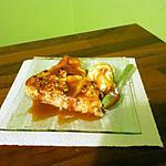 recette tarte pomme/noix/caramel