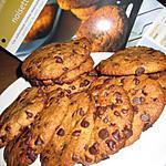 recette Cookies noisettes-chocolat