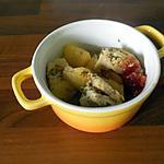 recette cocot' poulet mielleux