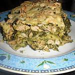 recette lasagne d'épinards et saumon