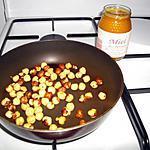 recette miel aux noisettes grillées