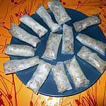 recette Nems de boeuf au poivre séchuan sans lactose