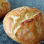 recette Petits pains rapides sans pétrissage