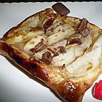 recette tartes fines aux poires et éclats de Daim