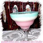 recette panaccota au couleurs de l'italie