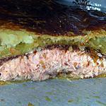 recette Filet de saumon en crôute aux épices de Noël