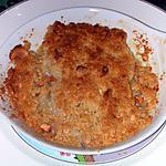 recette Crumble de dos de cabillaud aux noix de cajou