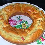 recette Couronne aux saucisses et fromage fondu