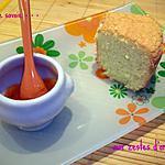 Biscuit de savoie aux zestes d'orange