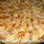 recette tarte normande, au chocolat blanc