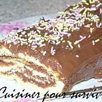 recette Gateau roulé au nutella