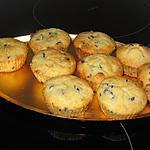 recette Muffins à la poire et aux pépites de chocolat