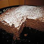 recette GATEAU CHOCOLAT PRALINE ET PEPITES DE CHOCOLAT