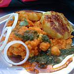 recette Recette indienne végétarienne chole tikki