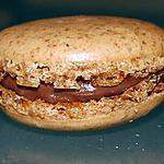 recette Macarons Praliné - Chocolat