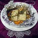 recette Papillotes de poisson aux légumes