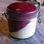 recette Panacotta à la vanille et espuma de myrtille