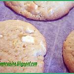 recette COOKIES PISTACHES ET CHOCOLAT BLANC