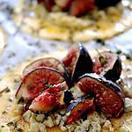 recette Tartelettes aux figues et à la Fourme d'Ambert