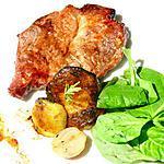recette Porc grillé mariné aux pêches, sauce miso