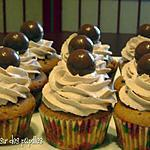 recette ~Cupcakes au lait malté~